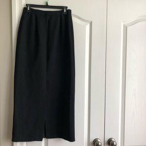 Dressy/Business Black Pencil Skirt (Midi Length)
